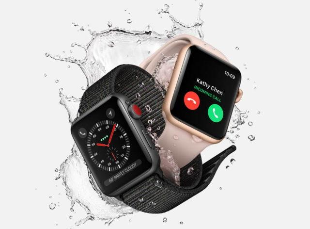 新しい機能が追加されたApple Watch Series 3が発売開始