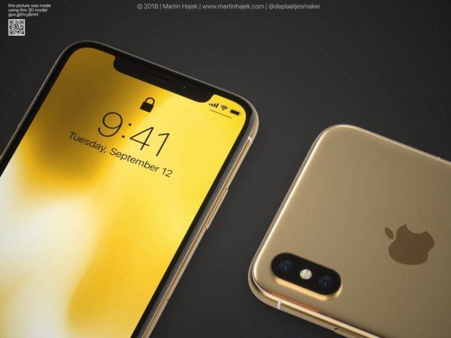 iPhoneXのゴールドが出ました。いえ、これはイメージ画像です。