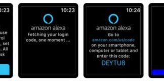 Alexaは(非公式)Apple Watchで利用可能