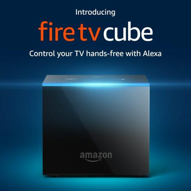Amazon社はAlexa搭載の4K Fire TV Cubeを発売