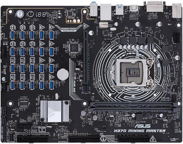 Asusの新しいCrypto-Miningマザーボードは最大20のGPUをサポート