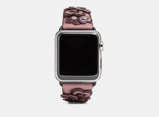Coachは夏用 新Apple Watchベルトを発表