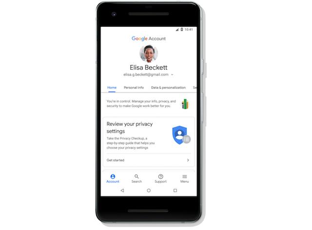 Google社、Androidでアカウントの安全性を改良