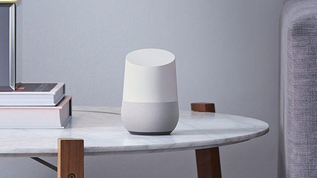 継続的な会話のGoogle Home稼働