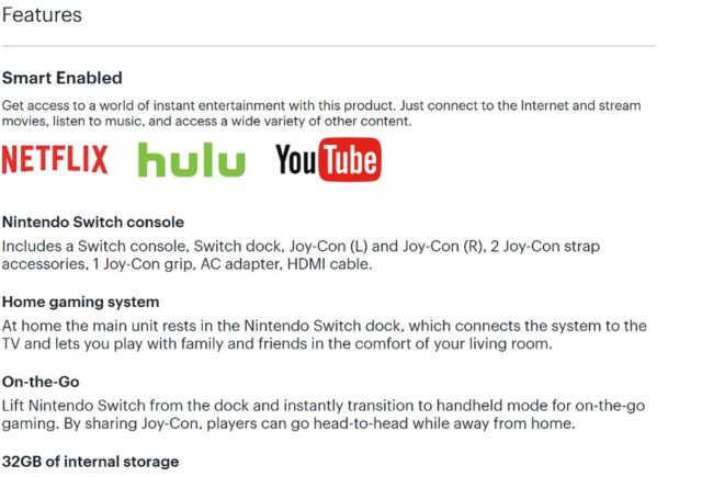 Best Buy社がNetflixとYoutubeがNintendo Switchに登場するヒントを与える