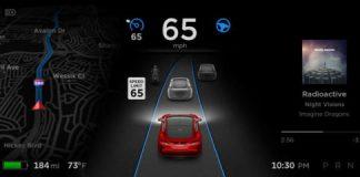近日発表Tesla社のアップデートは「完全自動運転機能」実現