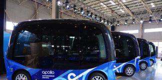 Baidu社の自動運転バスが来年日本に上陸