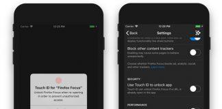Firefox Focusは今やFace IDで閲覧履歴をロック可能に