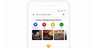 Google Maps があなたの街を探索する為の新機能を取得