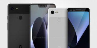 噂のGoogle Pixel 3, Pixel 3 XL工場のレンダリング流出
