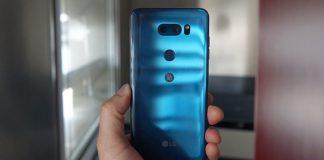 LG V40は5カメラ搭載の様子