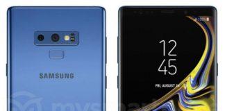 コーラルブルーのSamsung Galaxy Note 9, レンダリングがリークされる