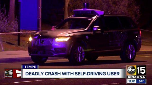 Uberの自律走行車のドライバー、衝突前にHuluを視聴