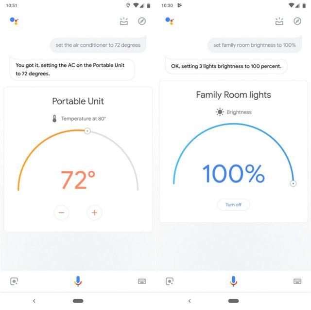 携帯電話のGoogle Assistantはよりスマートなホームコントロールに進化