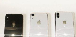 2018年iPhoneの新しいダミーモデル全3種が公開