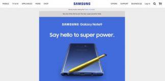 おっと、Samsung社、自社のウェブサイトでGalaxy 9をリーク