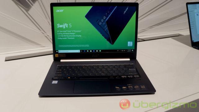 Acer,新しいSwift 3, Swift 5 ノート型パソコンをローンチ