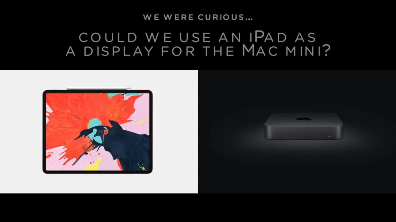 iPad ProをMac Miniのモニターに変身させる「Luna Display