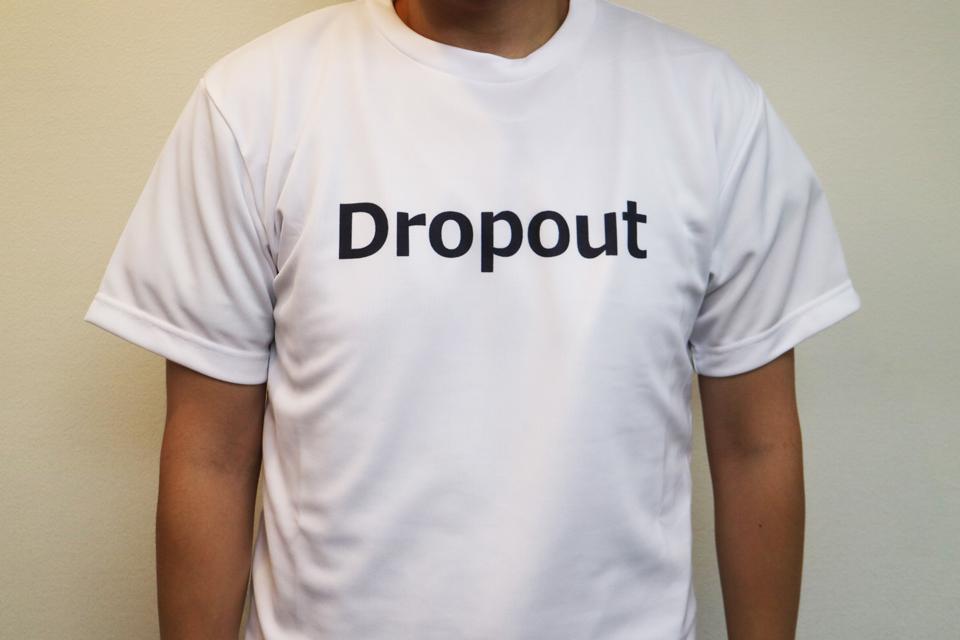 DropoutなTシャツ