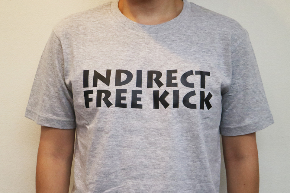 INDIRECT FREE KICKとは?