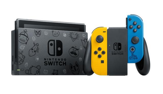 任天堂がフォートナイト版の限定Nintendo Switchを発表