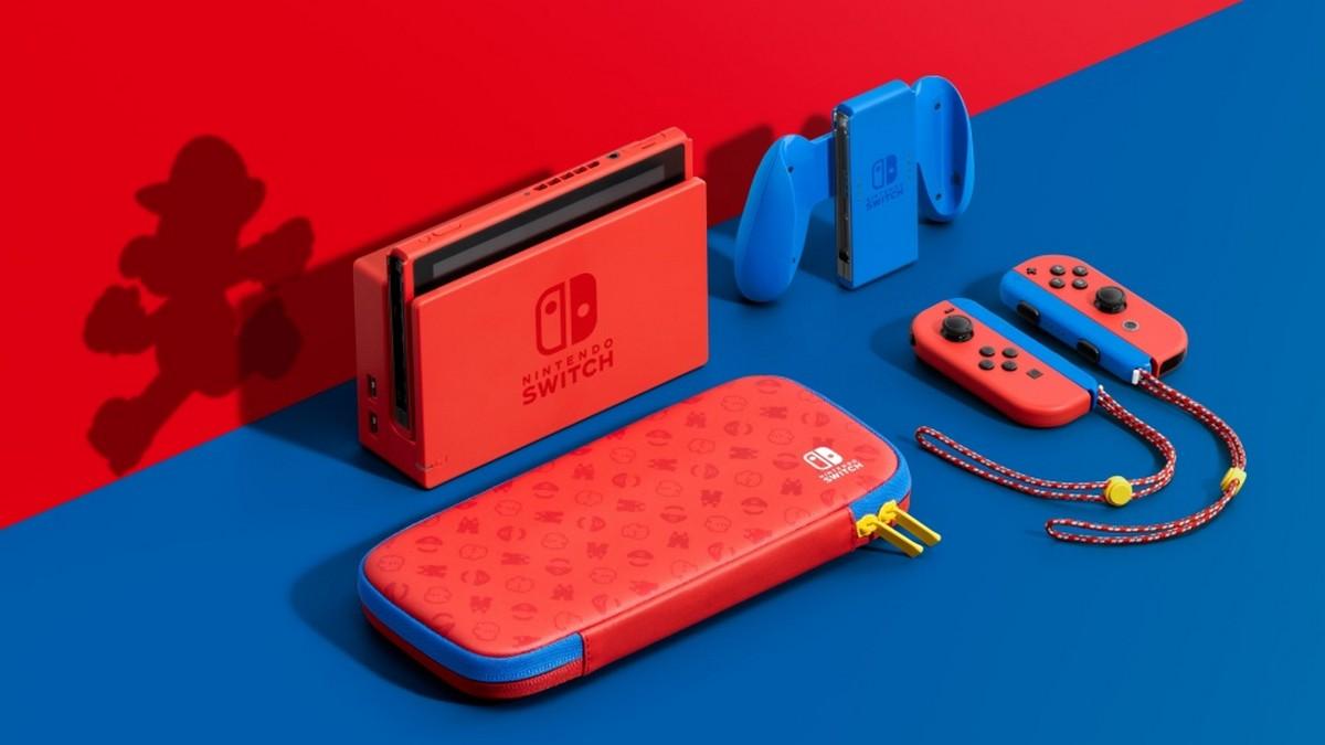 任天堂がスーパーマリオをテーマにしたNintendo Switchを発表